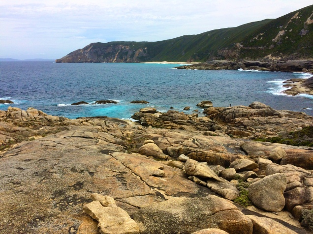 The rugged southern coastline of Western Australia. 2 Nov 2014.